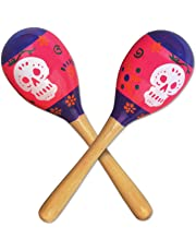 Beistle Day of The Dead Maracas, Multicolored