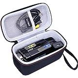 LTGEM EVA Hard Case for Kicteck Video Camera Camcorder Digital - Travel Protective Carrying Storage Bag
