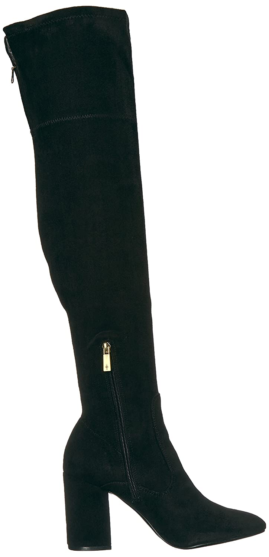 Kenneth Carah Cole New York Women's Carah Kenneth Knee High Tall Stretch Engineer Boot B0716KLTGT 8 B(M) US|Black ec040a