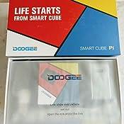 DOOGEE P1 Proyector, Inalámbrico Projector de Cubo de Pantalla de ...