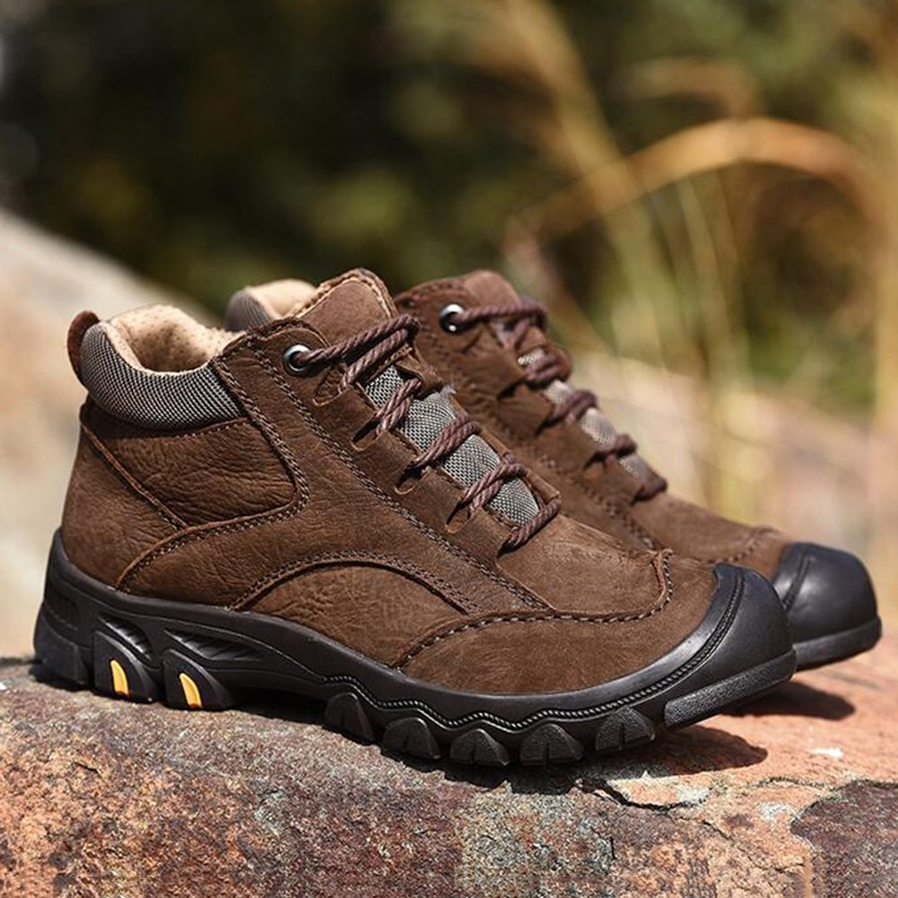 SUN Männer warme PU Casual Baumwolle Schuhe (Farbe mittleren Alters Wilde koreanische Winter (Farbe Schuhe   2, größe   EU42 UK8.5 CN43) c6f707