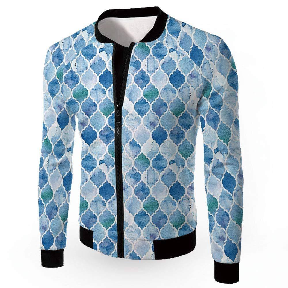 c3bd59f35 Multi07 Small iPrint Men's Jackets,Mgoldccan,Men's Lightweight Zipup  Windproof Windbreaker Jacket,Nor