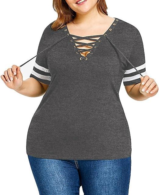 Camisetas Baratas Mujer Ronamick Encaje Sexy Blusa Negra ...