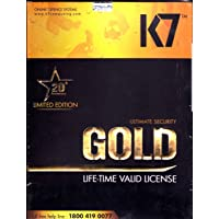 K7 Gold Lifetime Antivirus and Internet Security - 1 PC (Email Delivery in 2 Hours - No CD)