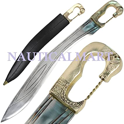 Amazon.com: falcata acero delus ibérico Warrior espada by ...
