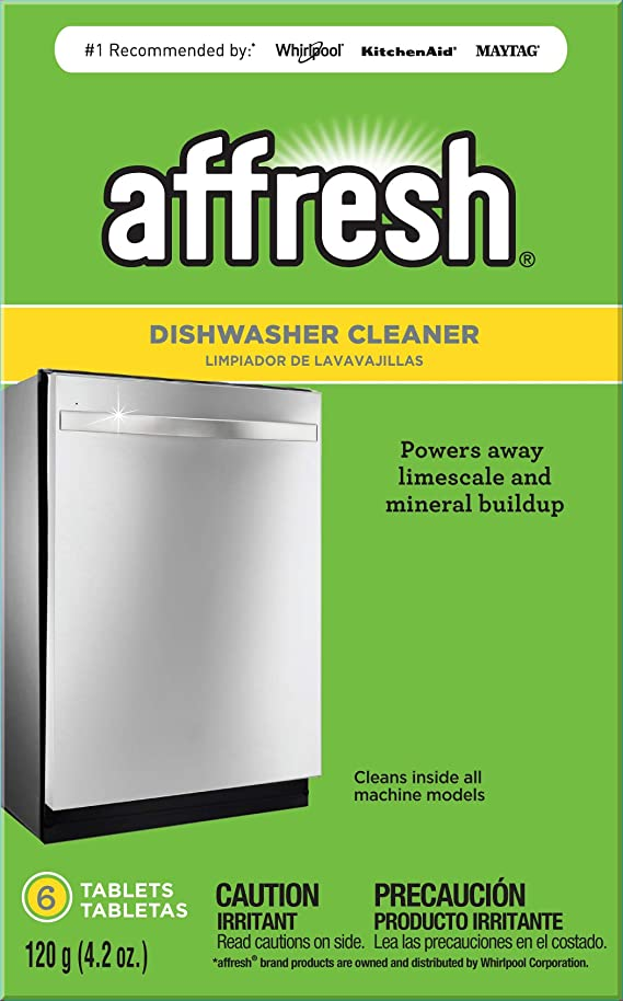 Affresh W10549851 Dishwasher Cleaner 6 Tablets in Carton Original Version
