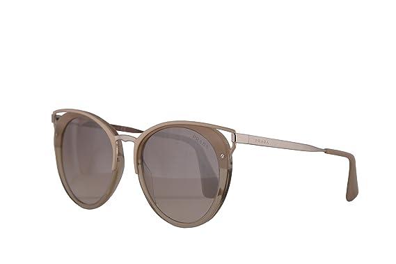 fcc91fa3c937 Image Unavailable. Image not available for. Color  Prada PR66TS Sunglasses  Striped Beige w Gradient Brown ...