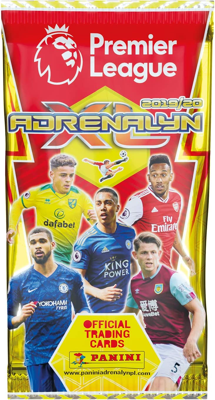 2019 2020 PANINI Adrenalyn XL Premier League Soccer Trading Cards Box 50 Packs