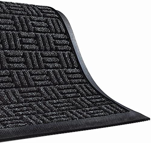 Waterhog Masterpiece Andersen Select Mat – 3X4 – Charcoal – Charcoal – 3×4