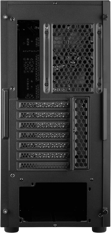 2 panneaux Aerocool AEROONEMINIFROST noir bo/îtier PC Micro ATX 4 ventilateurs