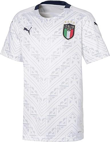 Amazon.com : PUMA 2020-2021 Italy Away Football Soccer T ...