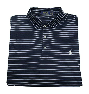 Polo Ralph Lauren Mens\u0027 Big and Tall Soft Touch Polo Shirt Classic Fit  (French