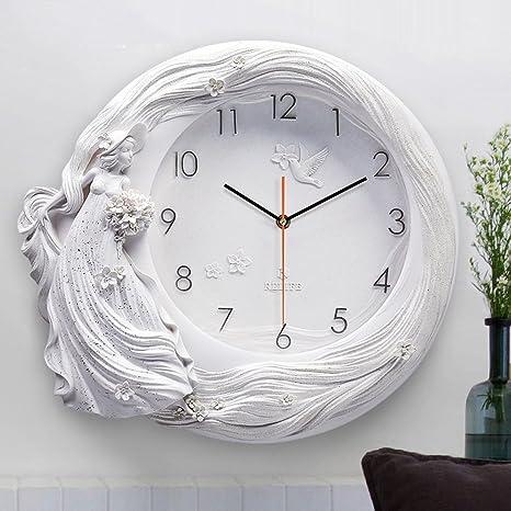 MEILING Relojes originales y relojes Reloj de pared Reloj de la sala de estar Reloj de ...