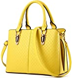 JHVYF Women Claissic Top Handle Handbag Crossbody Casual Purse Satchel Tote