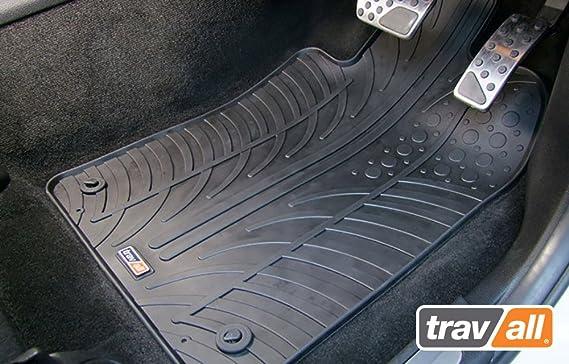 Travall Mats Gummifußmatten Kompatibel Mit Citroen C1 Peugeot 107 Und Toyota Aygo 2009 2014 Trm1051 Allwettermatten Nach Maß Fussmatten Set Auto
