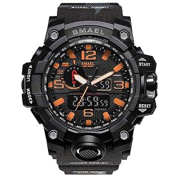 Blisfille Relojes Digital de Mujer Relojes Inteligentes Hombre Reloj Digital Joven Reloj Deporte Correr Reloj Hombre 10: Amazon.es: Deportes y aire libre
