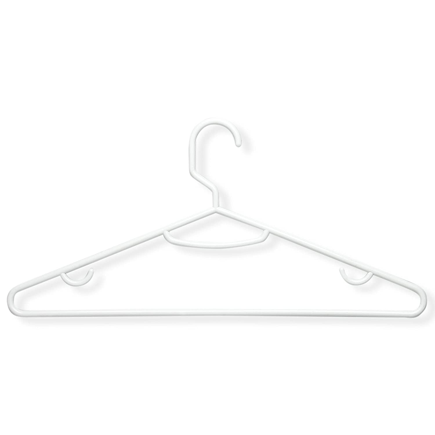 Amazon.com: Honey-Can-Do HNGZ01523 Light-Weight Plastic Hangers, 60 ...