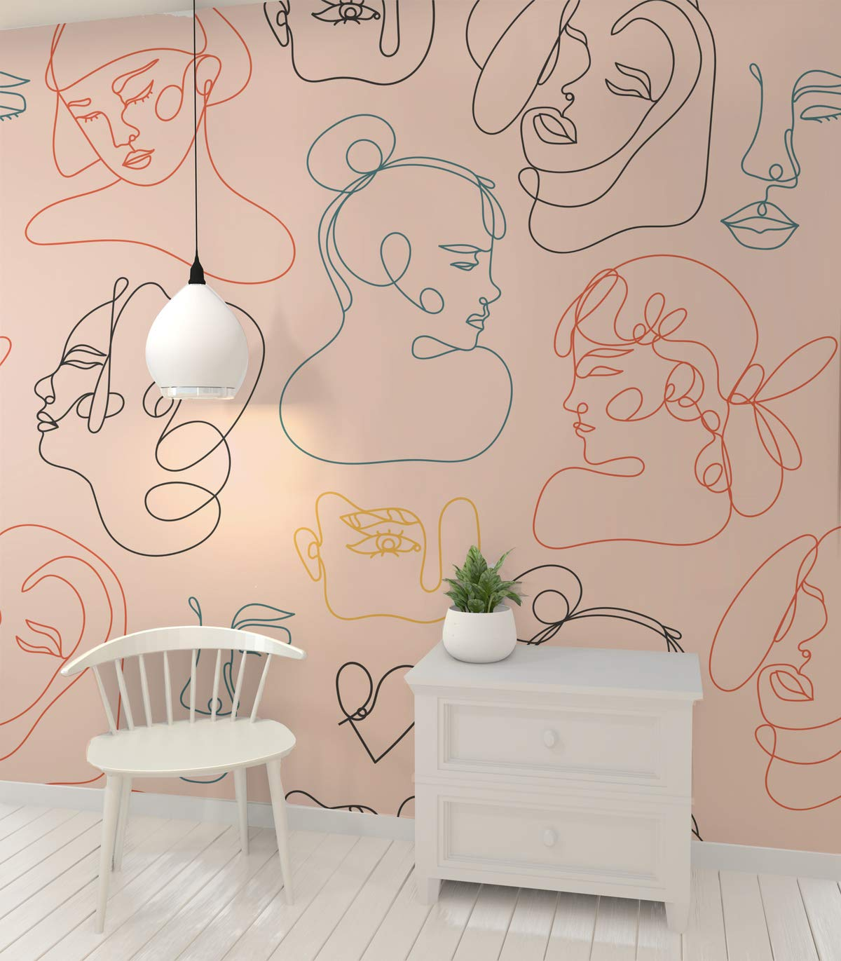 3D Abstract E286 Removable Wallpaper Self Adhesive Wallpaper Extra Large Peel /& Stick Wallpaper Wallpaper Mural AJ WALLPAPERS