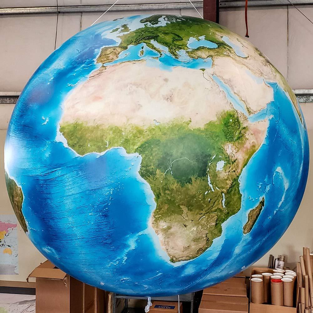 Amazon.com: Academia Maps Globo inflable gigante – Bola de ...