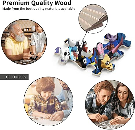 PDJQSGO 1000 Piece Under-Tale Large Jigsaw Puzzle for Adults Puzzle Game Interesting Toys