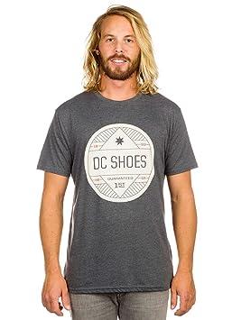 f636a17a DC Shoes Screen T-Shirt Sesh Short Sleeve M Tees - Camiseta, Color Gris,  Talla XL: DC Shoes: Amazon.es: Deportes y aire libre