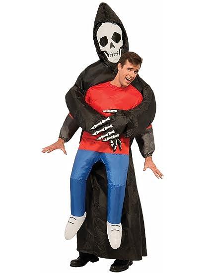 Disfraz la muerte viene a por mí hinchable para adulto