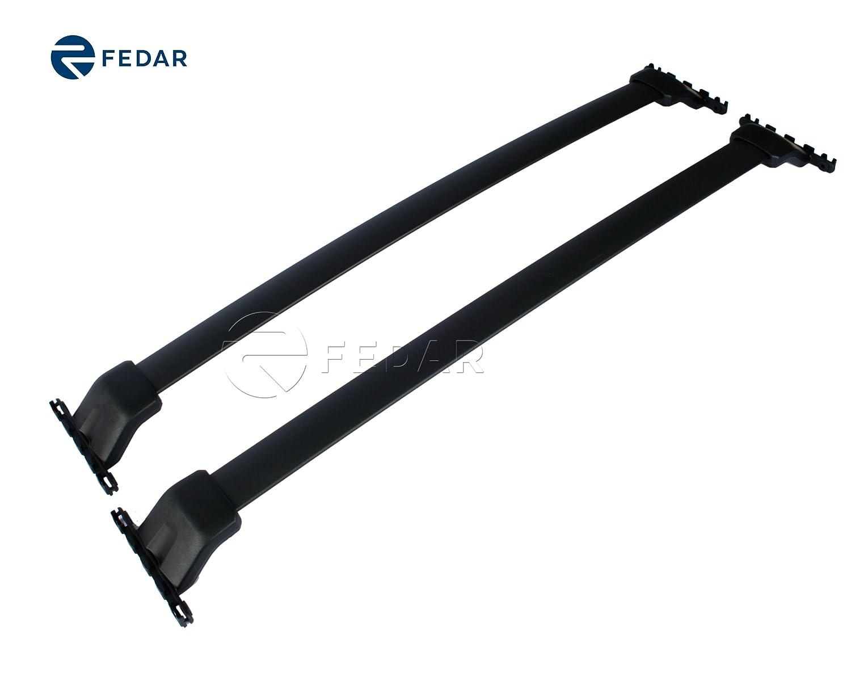 Fedar Roof Rack Cross Bar Cargo Carrier for 2009-2015 Honda Pilot Fedar Group Inc
