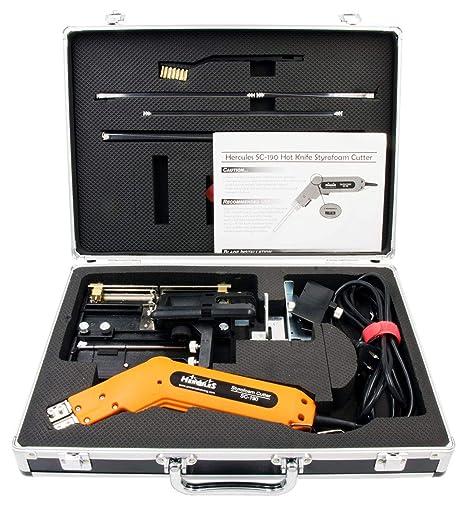 Caliente cuchillo cortador de espuma calor Kit, calor de mano cortador, cortador de poliestireno