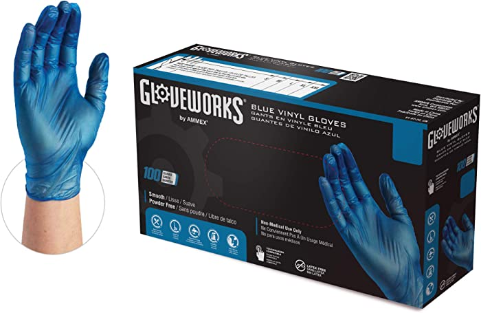 The Best Vinyl Powder Free Gloves Small Food Safe