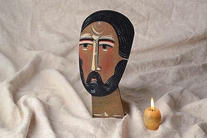 Icono religioso de San Marcos Evangelista: Amazon.es: Hogar
