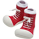Attipas Sneaker Baby Walker Shoes, Red, X-Large