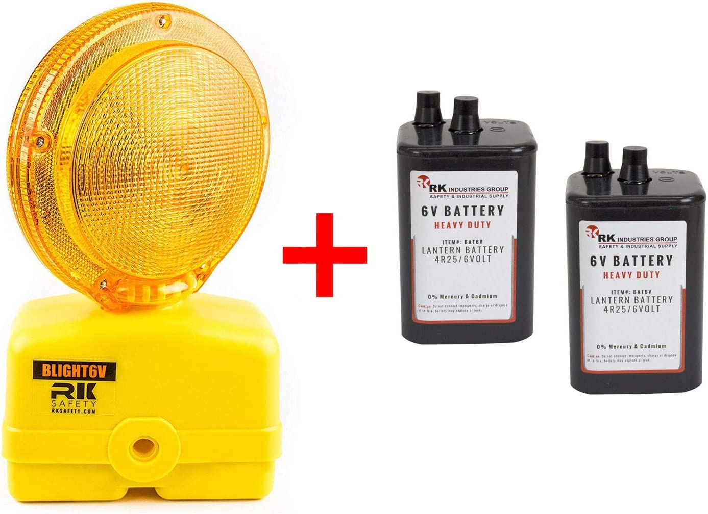 Pack of 24 Troy Safety 6 Volt Lantern Battery 4R25