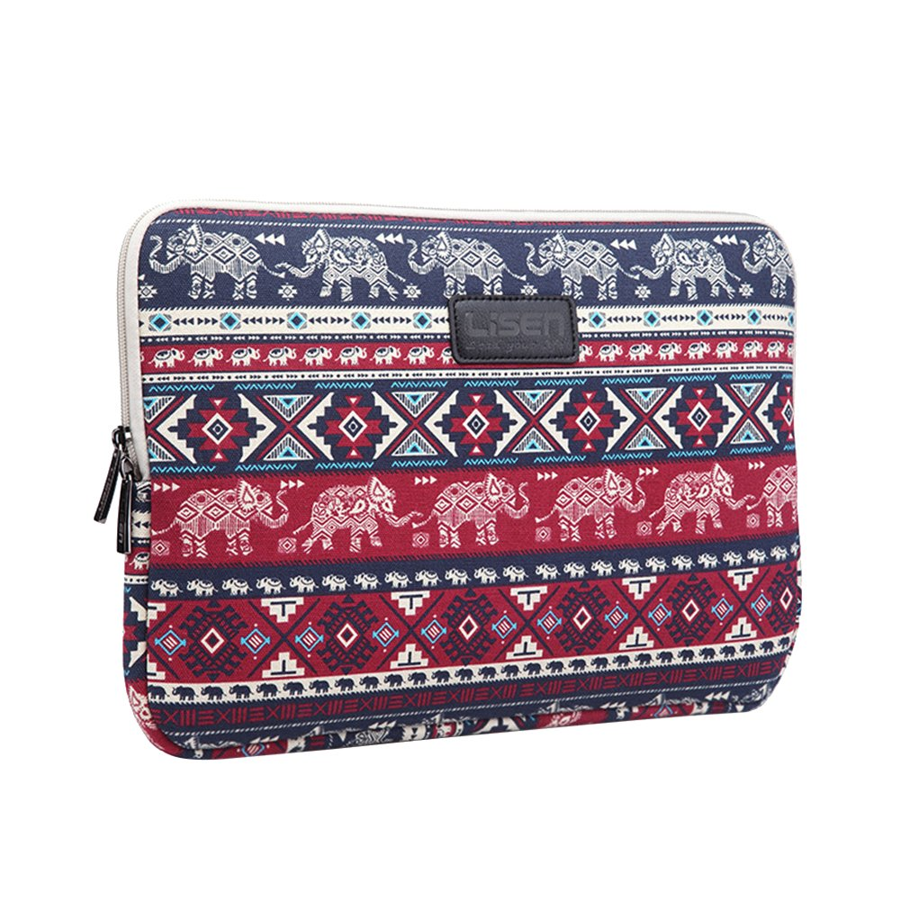 6.5 inch Sleeve, Classic Bohemian&Ethnic Sleeve Laptop Bag Water Resistant Shockproof Anti-Scratches for Kindle Voyage/Kindle Paperwhite/Kindle Oasis,Coffee GODGETS