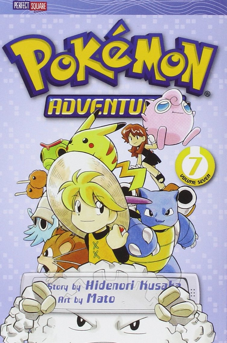 Pokémon Adventures (7 Volume Set - Reads R to L (Japanese Style) for all ages) by VIZ Media - Children's
