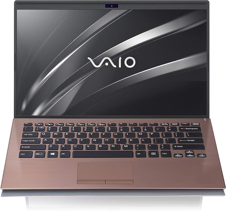 VAIO SX14 - Intel Core i7-8565U | 16GB Memory (RAM) | 1TB PCIe SSD | Windows 10 Pro | 14.0-Inch Ultra HD 4K (3840x2160) Display | Brown