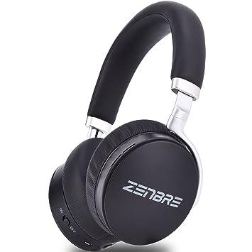 Auriculares Bluetooth, ZENBRE H6 Auriculares Inalámbricos Sobre los Oídos Bluetooth 4.2, Esterero con Aislamiento