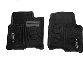 Lund 583004-B Catch-It Carpet Black Front Seat Floor Mat Set of 2
