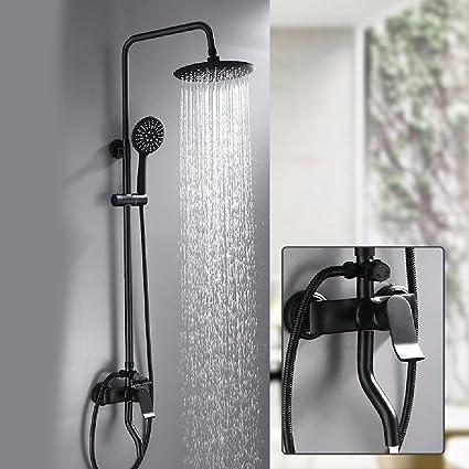 Full body shower lift copper Shower