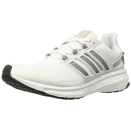 buy online dd675 8b249 adidas Womens Energy Boost 3 W Running Shoe, WhiteSolid GreyCrystal White  S, 6 M US