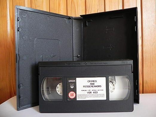 Crimes And Misdemeanours [Reino Unido] [VHS]: Amazon.es: Landau, Martin, Allen, Woody, Huston, Anjelica, Farrow, Mia, Nichols, Jenny, Aaron, Caroline, Alda, Alan, Allen, Woody, Landau, Martin, Allen, Woody: Cine y Series TV