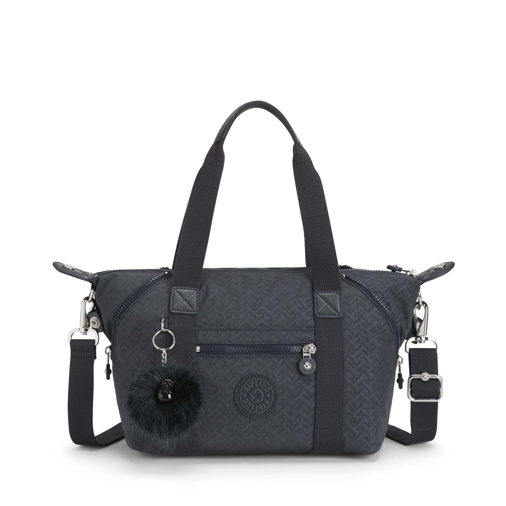 Kipling ART MINI Handbag Night Blue Emb