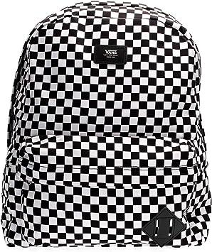 Oferta amazon: Vans SS20 Mochila Antigua SKOOL III OS Black White Check