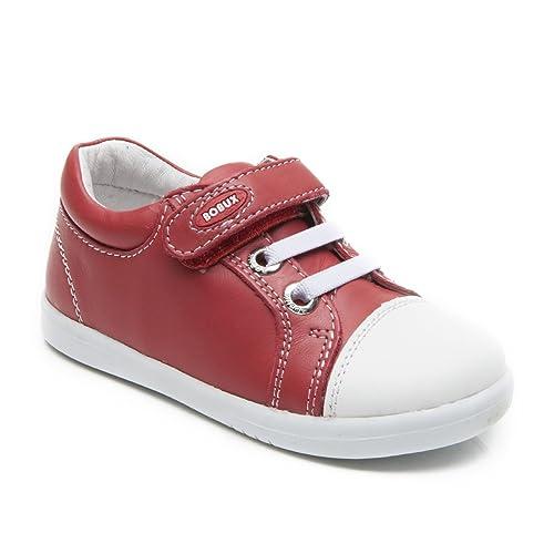 Bobux - Mocasines de Piel para niño rojo Red, color rojo, talla 22 EU: Amazon.es: Zapatos y complementos