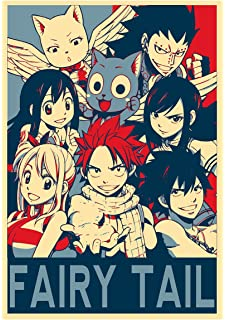 FAIRY TAIL POSTER CARTOON ANIME MANGA POSTER 2 Sizes Available 03