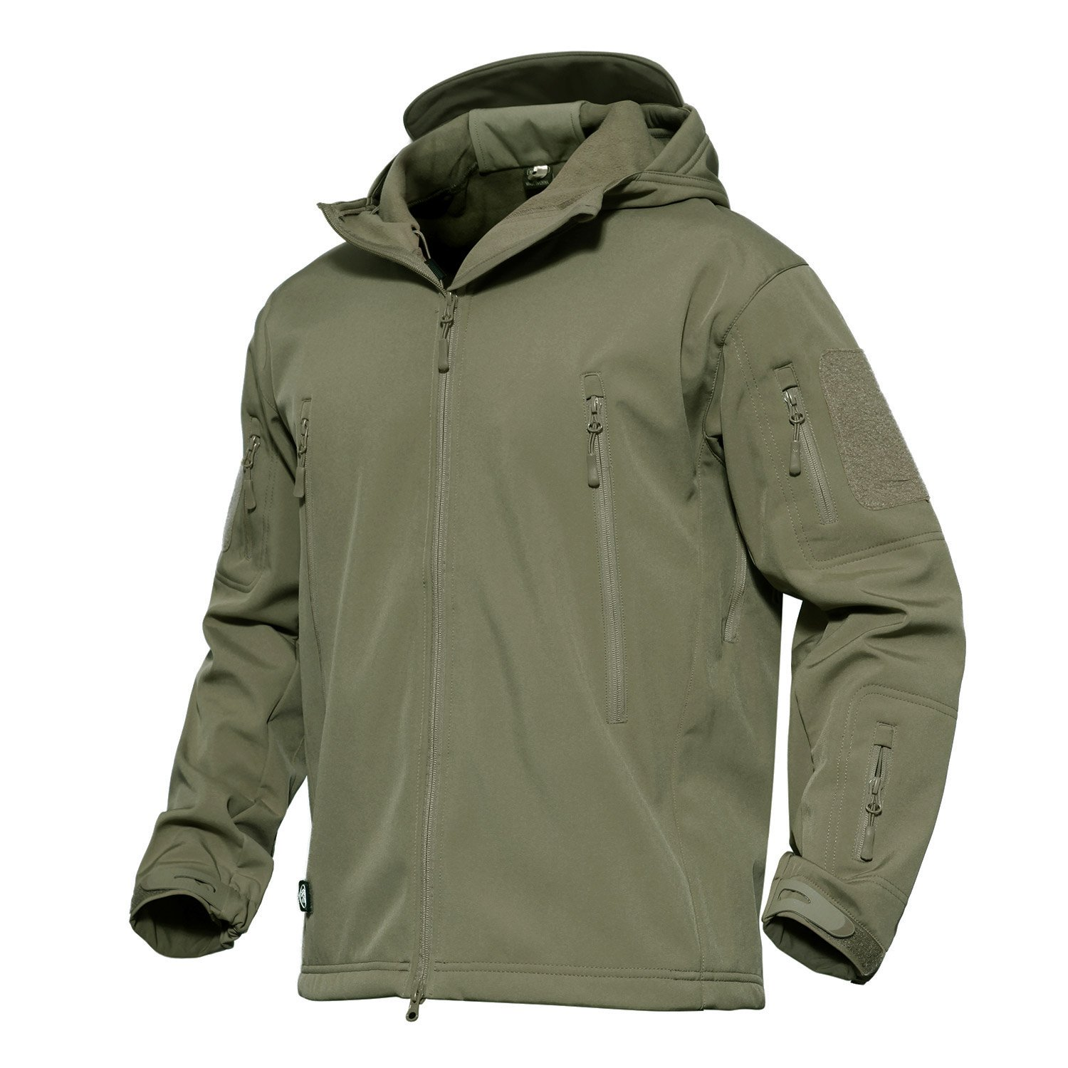 MAGCOMSEN Men's Tactical Army Outdoor Coat Camouflage Softshell Jacket Hunting Jacket YCADL-2