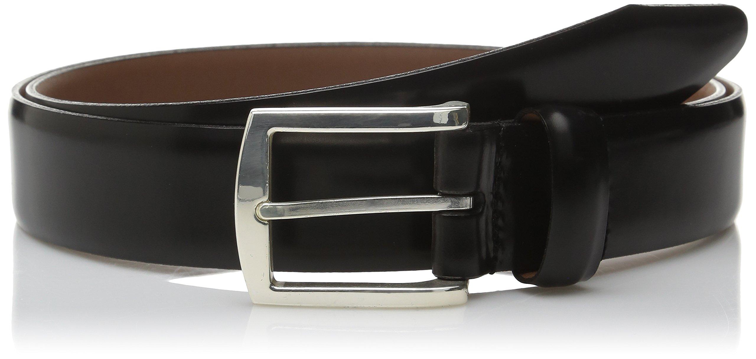 Allen Edmonds Men's Midland Ave Belt, Black, 036 Standard