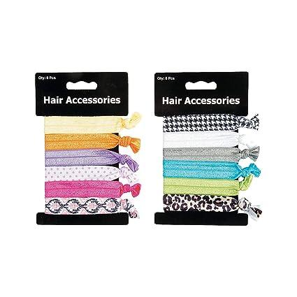 Amazon.com: Fun Express - Fun Hair Tie Assortment