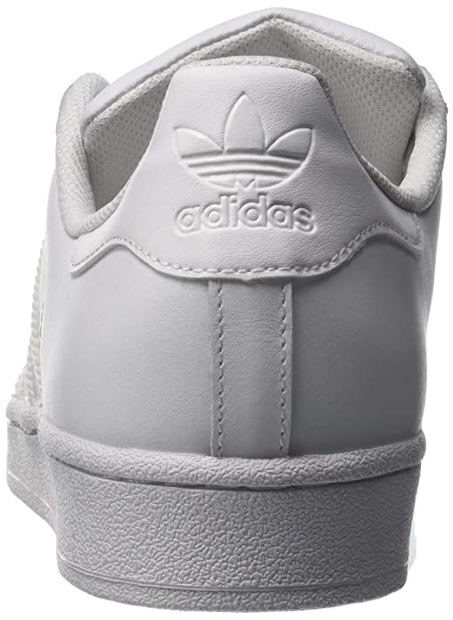 outlet store e79a7 f4b25 Amazon.com   adidas Superstar Foundation, Men s Trainers, White (FTWR White FTWR  White FTWR White), 12.5 UK (48 EU)   Fashion Sneakers