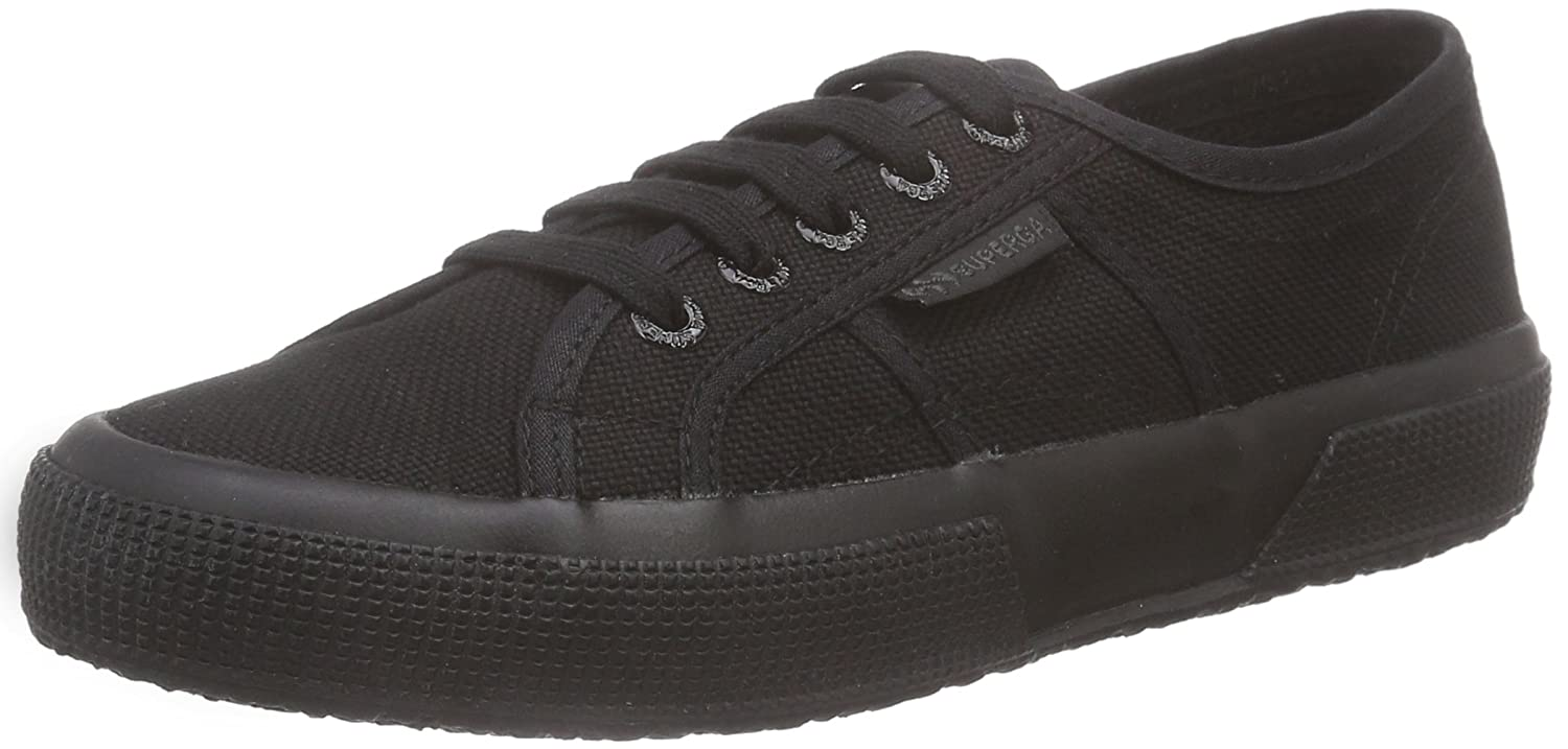 Superga 2750 COTU Classic, Zapatillas Unisex Adulto 37 EU|Negro (Total Black 997)