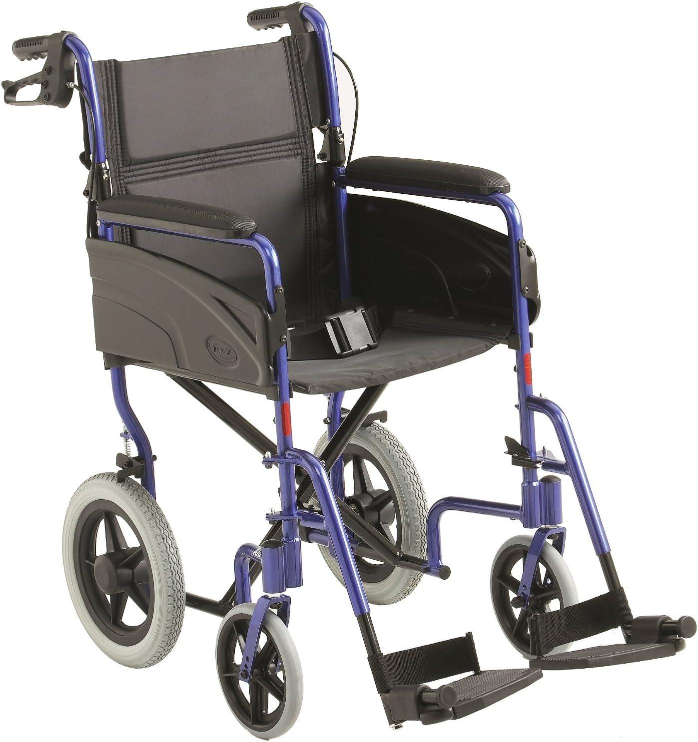 Invacare ligero aluminio transporte silla de ruedas - 18